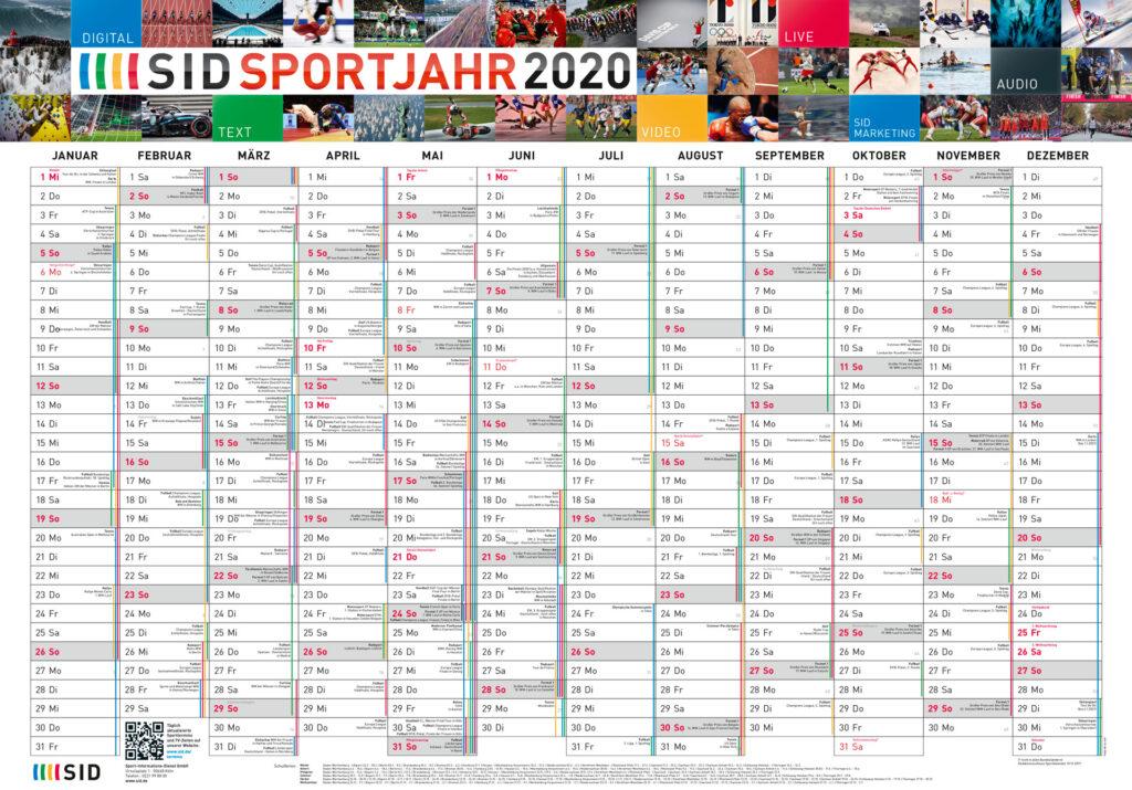 SID-Kalender 2020