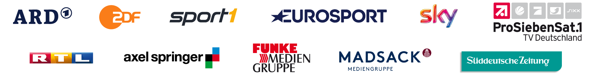Our clients:<br />